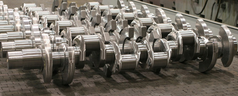 Crankshafts from Ellwood Crankshaft Group